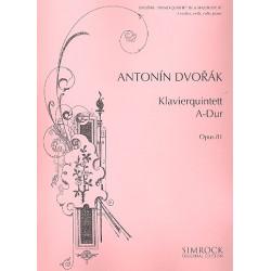 Dvorák, Antonín: Quintett A-Dur op.81 : für Klavier und Streichquartett Stimmen