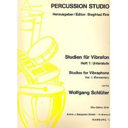 Schl├╝ter, Wolfgang: Studien f├╝r Vibraphon