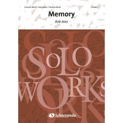 Ares, Rob: Memory : f├╝r Bariton (Euphonium) und Blasorchester
