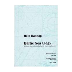 Rannap, Rein: Baltic sea elegy für Streichorchester