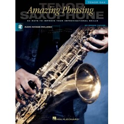 Taylor, Dennis: Amazing Phrasing (+CD) : for tenor saxophone