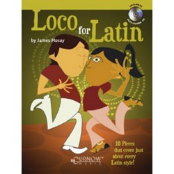 Hosay, James L.: Loco for Latin (+CD): 10 Pieces for Flute in Latin Style
