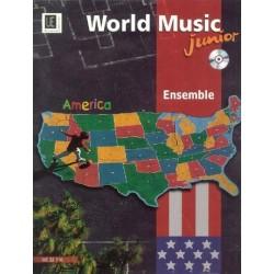 World Music Junior - America (+CD): für Ensemble Partitur