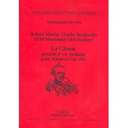 Bochsa, Robert Nicolas-Charles: La Chasse precede d'un andante für Horn und Harfe