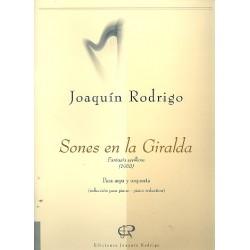 Rodrigo, Joaquin: Sones en la Giralda : Fantasia sevillana para arpa e pianoforte