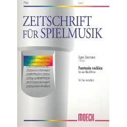 Ziesmann, Egon: Fantasia rockica : für 4 Blockflöten (SAAT)