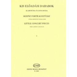 Kleine Vortragsst├╝cke : f├╝r Klarinette und Klavier