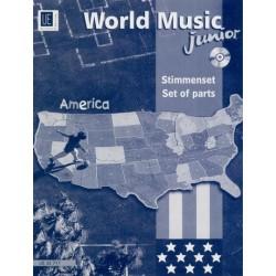 World Music Junior: America für Ensemble Stimmenset