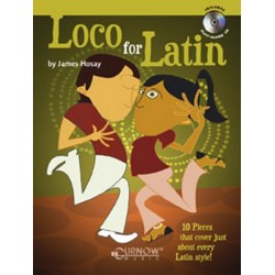 Hosay, James L.: LOCO FOR LATIN (+CD): 10 PIECES FOR TROMBONE IN LATIN STYLE