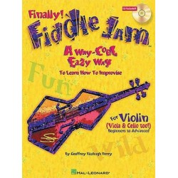 Perry, Geoffrey Fitzhugh: Finally Fiddle Jam (+CD) : A easy Way to learn how to improvise for violin (viola, cello)