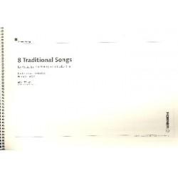 8 traditional Songs für 3 (4) Mundharmonikas Partitur