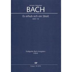 Bach, Johann Sebastian: Es erhub sich ein Streit Kantate Nr.19 BWV19 Partitur