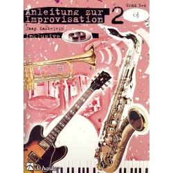 Kastelein, Jaap: Anleitung zur Improvisation Band 2 (+CD) : für C-Instrumente im Violinschlüssel