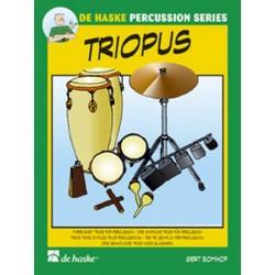 Bomhof, Gert: Triopus : 3 einfache Trios für Percussion