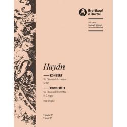 Haydn, Franz Joseph: Konzert C-Dur Hob.VIIg:C1 : f├╝r Oboe und Orchester Violine 2