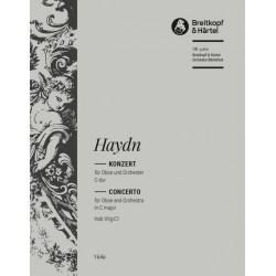 Haydn, Franz Joseph: Konzert C-Dur Hob.VIIg:C1 : f├╝r Oboe und Orchester Viola