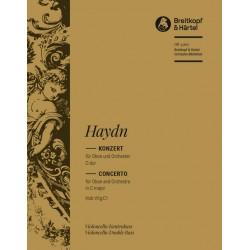 Haydn, Franz Joseph: Konzert C-Dur Hob.VIIg:C1 : für Oboe und Orchester Cello/Baß