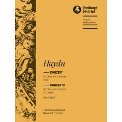 Haydn, Franz Joseph: Konzert C-Dur Hob.VIIg:C1 : f├╝r Oboe und Orchester Harmonie