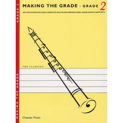 Making the Grade 2 : for clarinet Easy popular pieces for young clarinettists, clarinet and piano