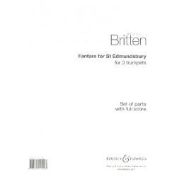 Britten, Benjamin: Fanfare for St. Edmundsbury : for 3 trumpets