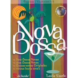 Searle, Leslie: Bossa nova (+CD) : 12 neue Bossa novas für Posaune (Euphonium)