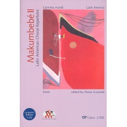 Makumbebé Band 2 (+CD) : für Frauenchor (z.T. mit Instrumenten) Partitur/Chorleiterband