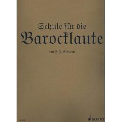 Giesbert, Franz Julius: Schule für die Barocklaute