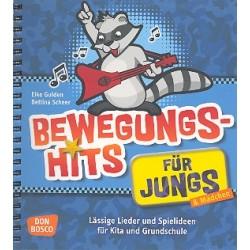 Gulden, Elke: Bewegungshits für Jungs : Liederbuch und Spielideen