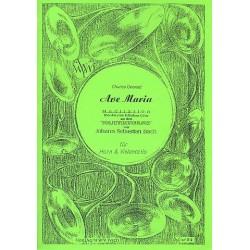 Gounod, Charles Francois: Ave Maria für Horn und Violoncello Partitur und Stimmen