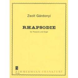 Gardonyi, Zsolt: Rhapsodie : für Posaune und Orgel