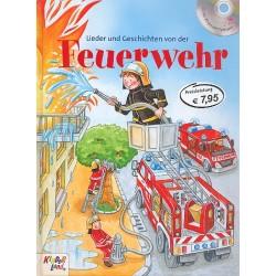 Lieder und Geschichten von der Feuerwehr (+CD) gebunden