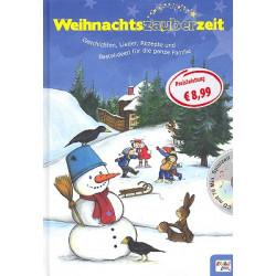 Grabowski, Katharina: Weihnachtszauberzeit (+CD) : Geschichten, Lieder, Rezepte und Bastelideen für die ganze Familie gebunden