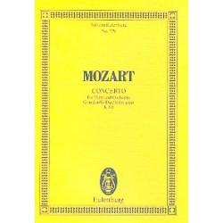 Mozart, Wolfgang Amadeus: Konzert G-Dur KV313 : für Flöte und Orchester Studienpartitur