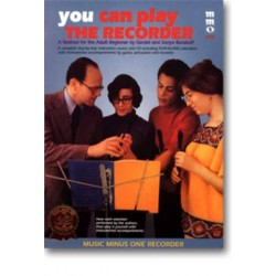Burakoff, Gerald: You can play the recorder (+CD) : a method for the adult beginner