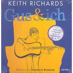 Richards, Keith: Gus und ich (+CD) Deluxe-Ausgabe, gebunden