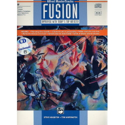 ALFRED MASTER TRACKS FUSION (+CD): FOR ALL Bb INSTRUMENTS IMPROVISE WITH TODAY'S TOP ARTISTS