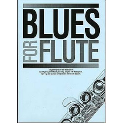 Blues for flute : songbook for flute solo