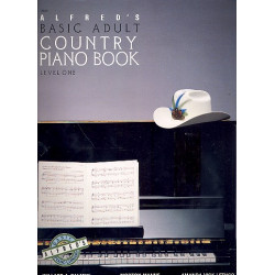 Palmer, Willard A.: Alfred's Basic Adult Country Piano Book level 1