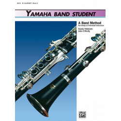 Kinyon, John: YAMAHA BAND STUDENT VOL.3 : FOR CLARINET BAND METHOD FOR GROUP OR IND. INSTR.