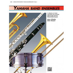 Kinyon, John: Yamaha Band Ensembles vol.1 : conductor's score/piano accompaniment