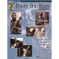 Power Trio Blues (+CD) : Songbook guitar/tab Inside the Blues