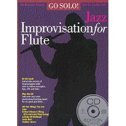 Go Solo Jazz Improvisation (+CD) : for flute
