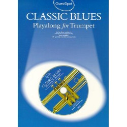 Classic Blues (+CD): for trumpet Guest Spot Playalong