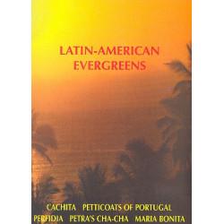 Latin-American Evergreens Band 1 : f├╝r Akkordeonorchester Partitur