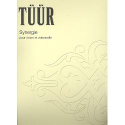 Tüür, Erkki-Sven: Synergie : für Violine und Violoncello 2 Spielpartituren