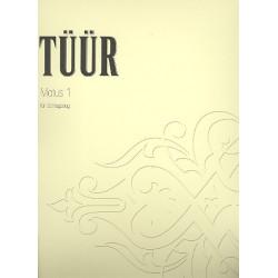 Tüür, Erkki-Sven: Motus Nr.1 : für Schlagzeug