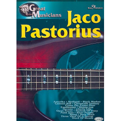 Pastorius, Jaco: Jaco Pastorius : for bass/tabulature Great musicians series