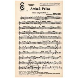 Parlow, Albert: Amboß-Polka: für Salonorchester Ergänzungsstimmen