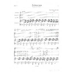 Schubert, Franz: Ständchen op.135 : für Alt, Frauenchorchor und Klavier Klavierpartitur
