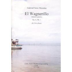 Soto Mendez, Gabriel: El Wagnerillo op.6,1 für 8 Hörner in F Partitur und Stimmen